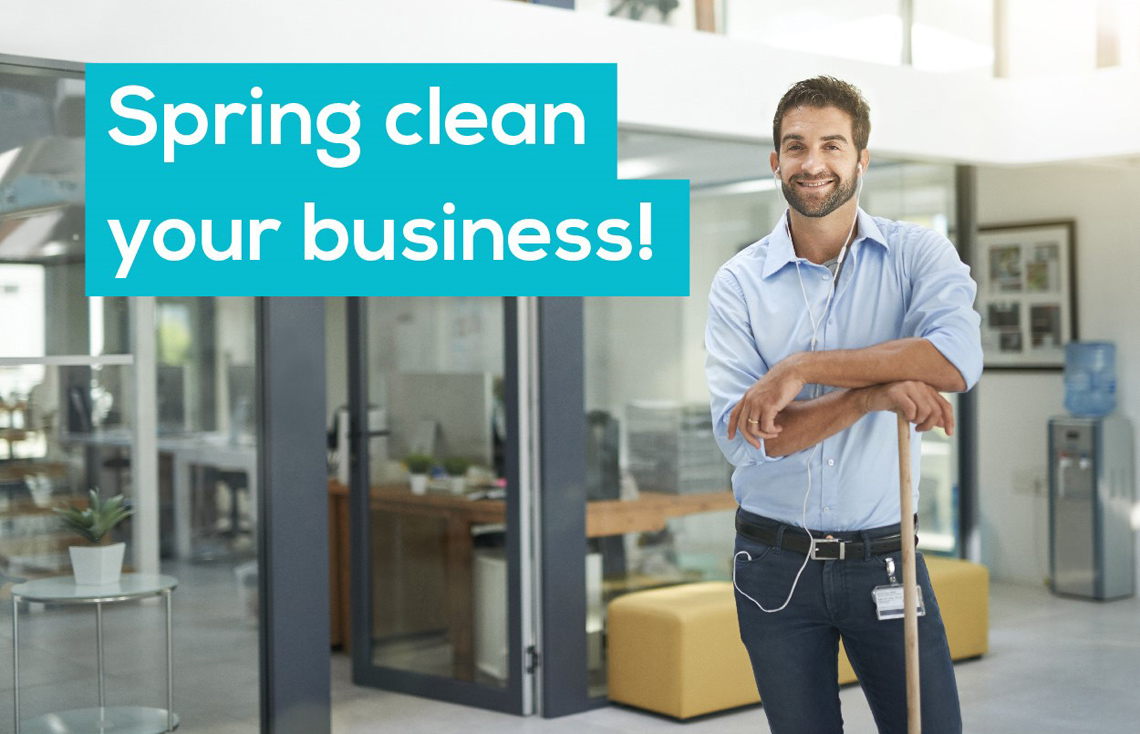 Spring Clean Your Business Zenoffice