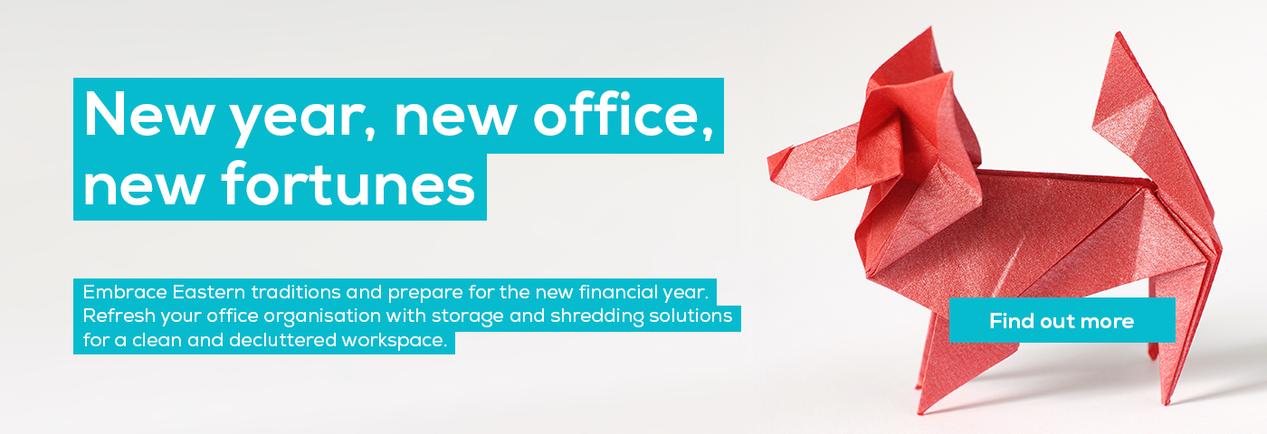 New year, new office, new fortunes. Prepare for the new financial year with shredding and storage solutions from ZenOffice.