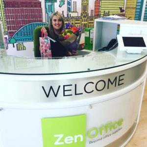 National Receptionist Day - Rachael at ZenOffice