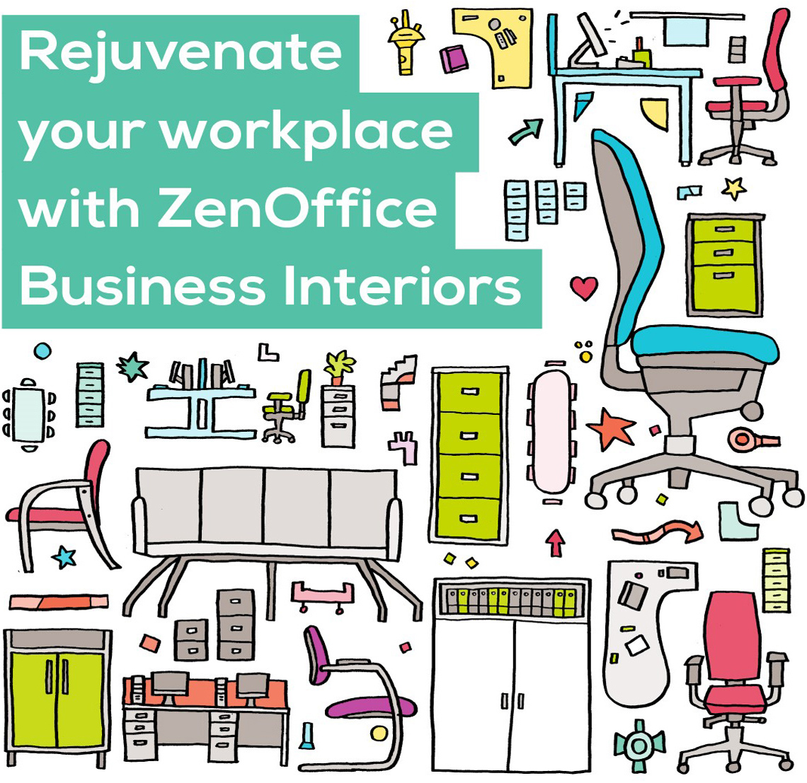 Rejuvenate your workplace with ZenOffice