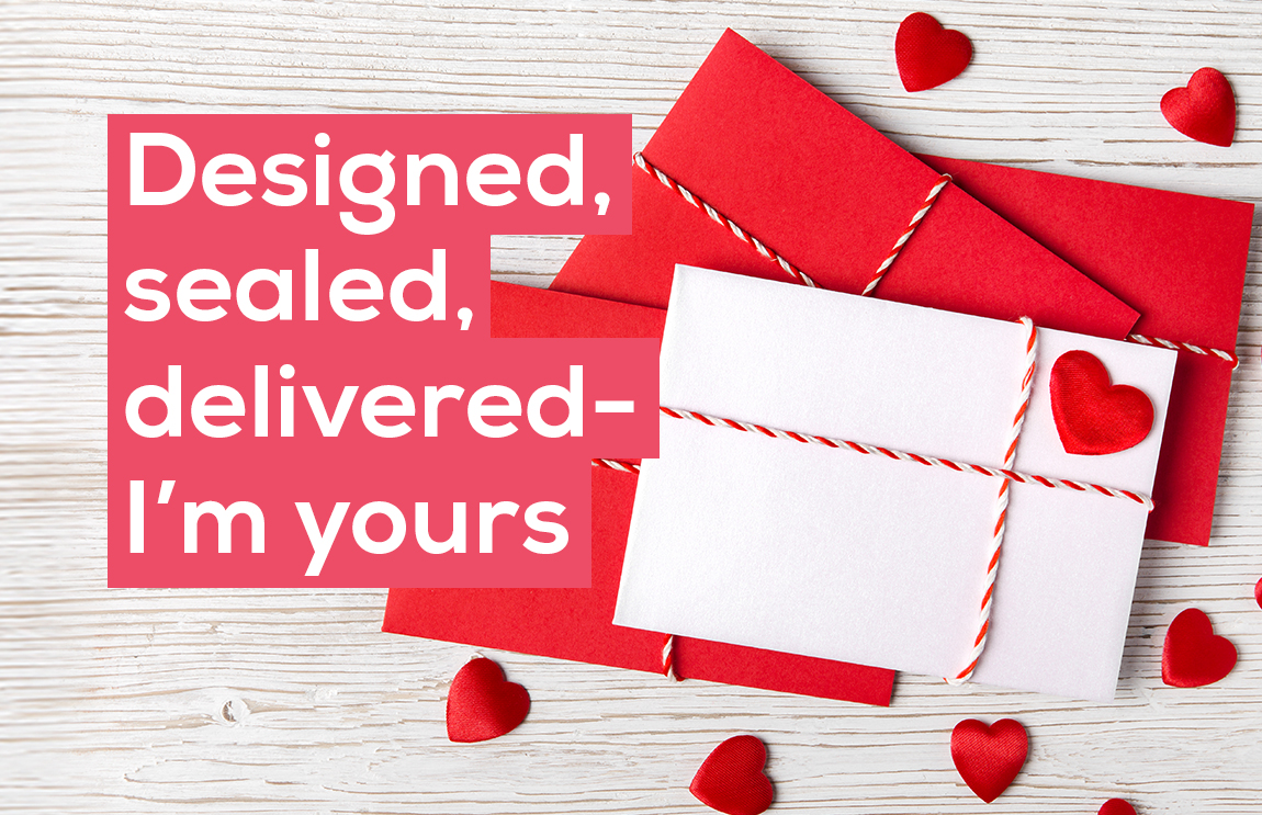 Discover the power of personalisation this Valentine's Day with a range of print & promotional items from ZenOffice.
