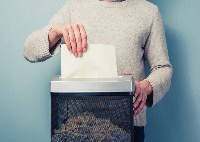 Secure shredding services from ZenOffice