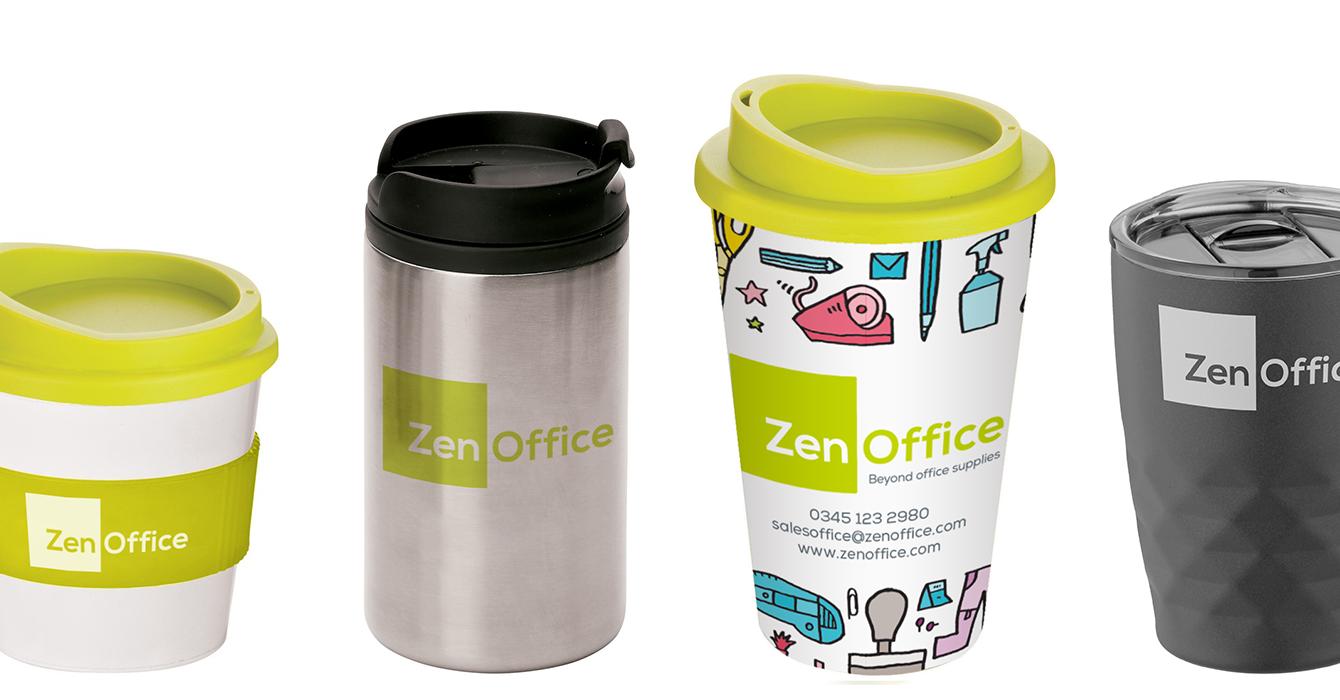 Reusable drinkware from ZenOffice
