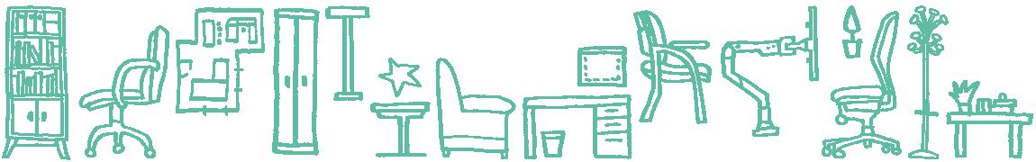 Barney Ibbotson Furniture Doodle