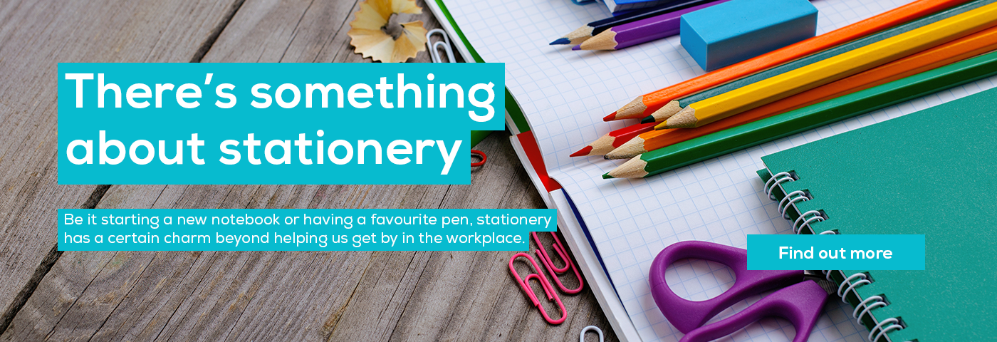 There's something about stationery