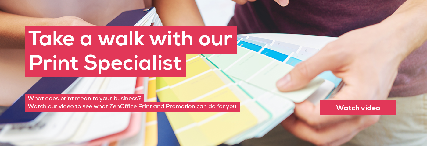 Take a walk with our Print Specialist