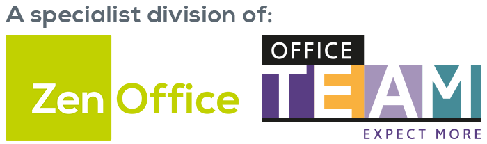 A specialist division of ZenOffice and OfficeTeam
