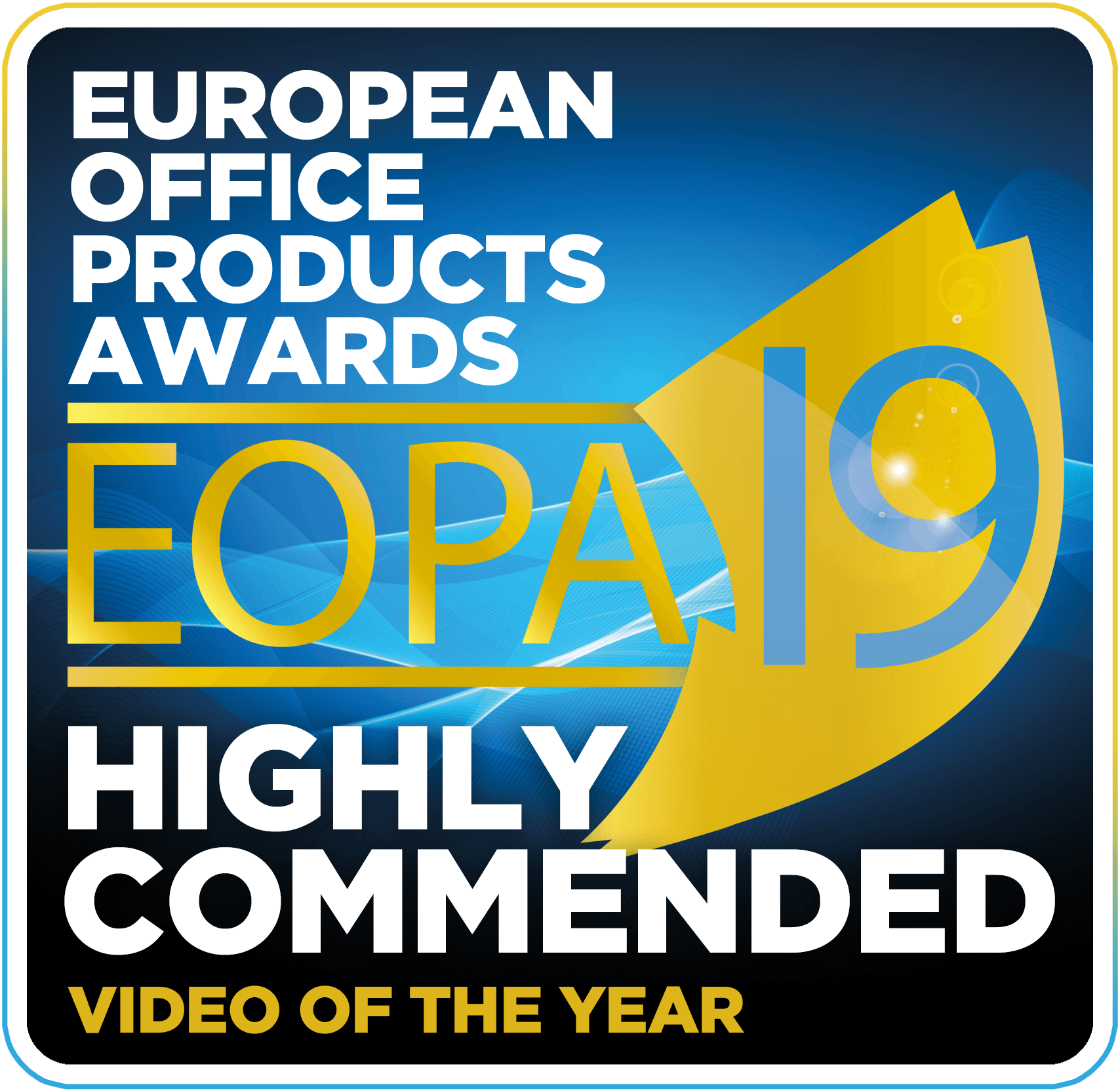 EOPA 19 Highly Commended Video of the Year